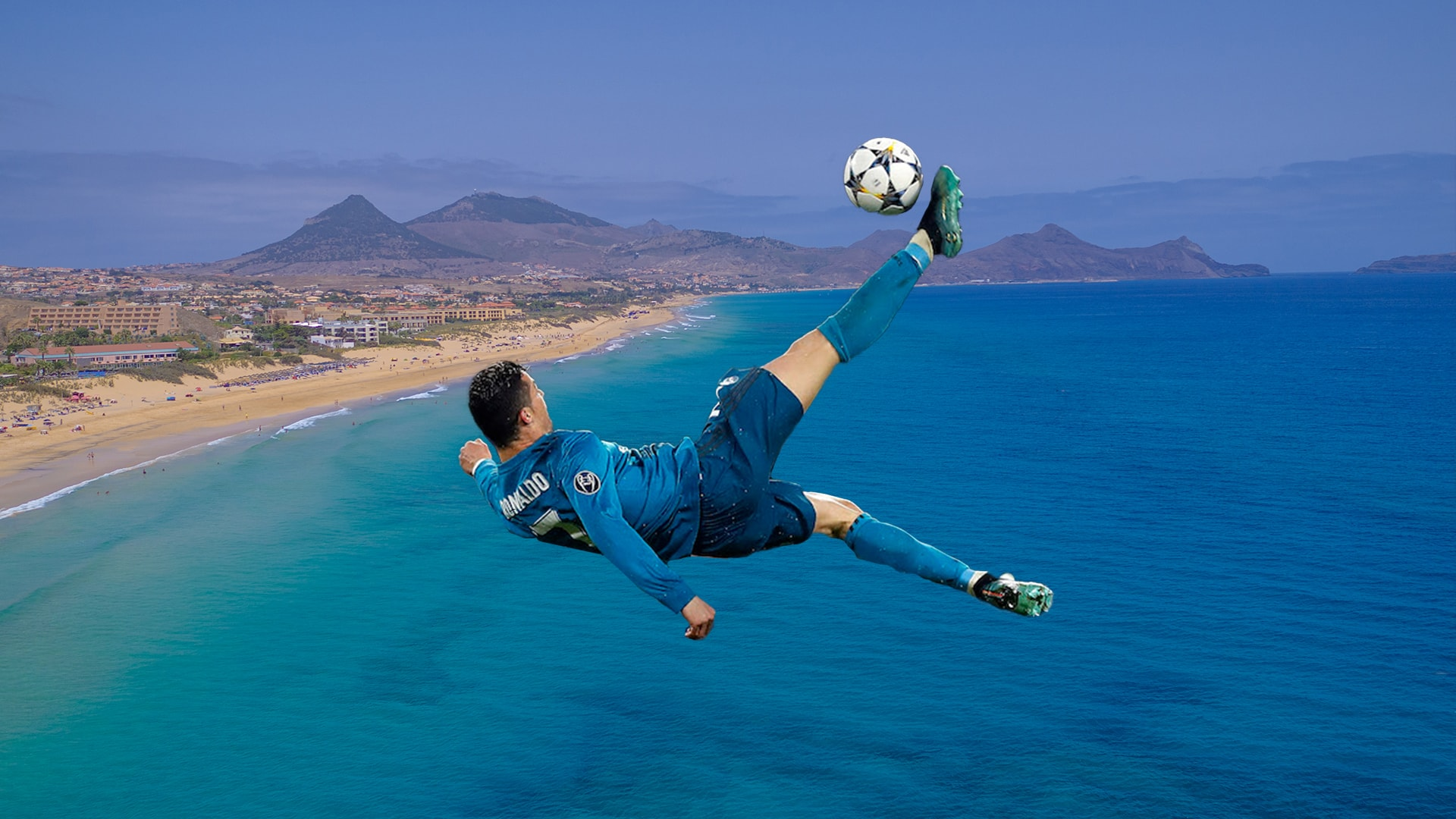Is the sand of Porto Santo the great secret of Cristiano Ronaldo?